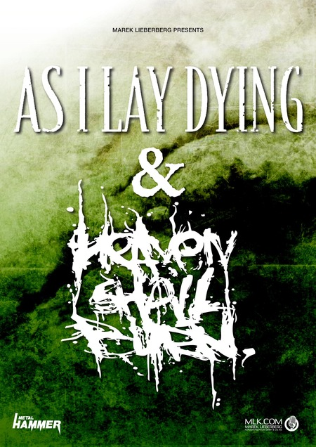 AS I LAY DYING kommen mit HEAVEN SHALL BURN auf Tour!