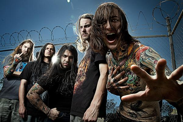 SUICIDE SILENCE: Support für HEAVEN SHALL BURN und AS I LAY DYING