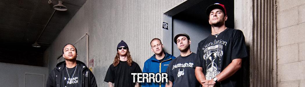 Breakdowns noch und nöcher! TERROR kommen auf Tour!