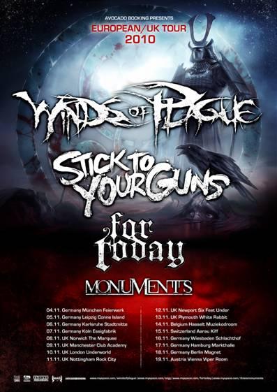 WINDS OF PLAGUE – Europäische Headliner-Tour