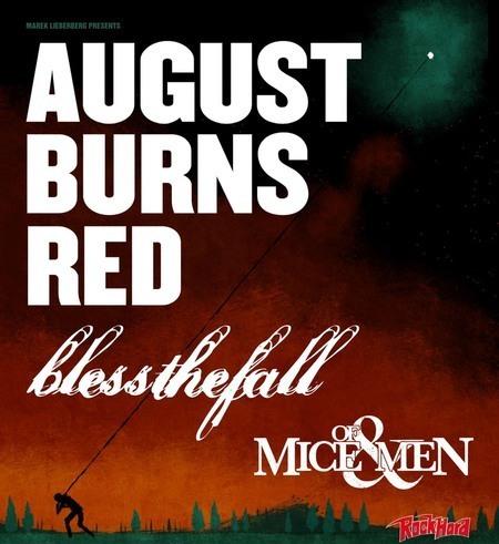 """AUGUST BURNS RED: """"Home""""-Live CD/DVD und Headliner-Tour"""
