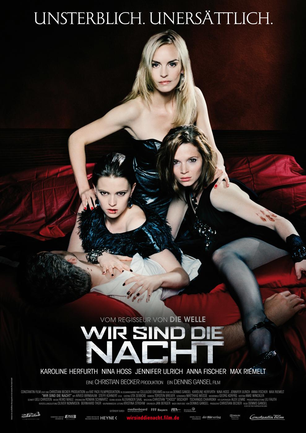 WIR SIND DIE NACHT: Deutscher Vampir-Thriller ab dem 28.10.2010 im Kino
