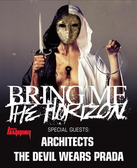 BRING ME THE HORIZON-2011er Tourdates mit THE DEVIL WEARS PRADA und ARCHITECTS