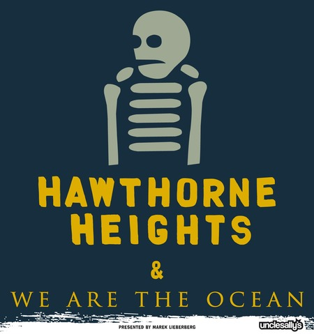 HAWTHORNE HEIGHTS & WE ARE THE OCEAN auf gemeinsamer Tour!