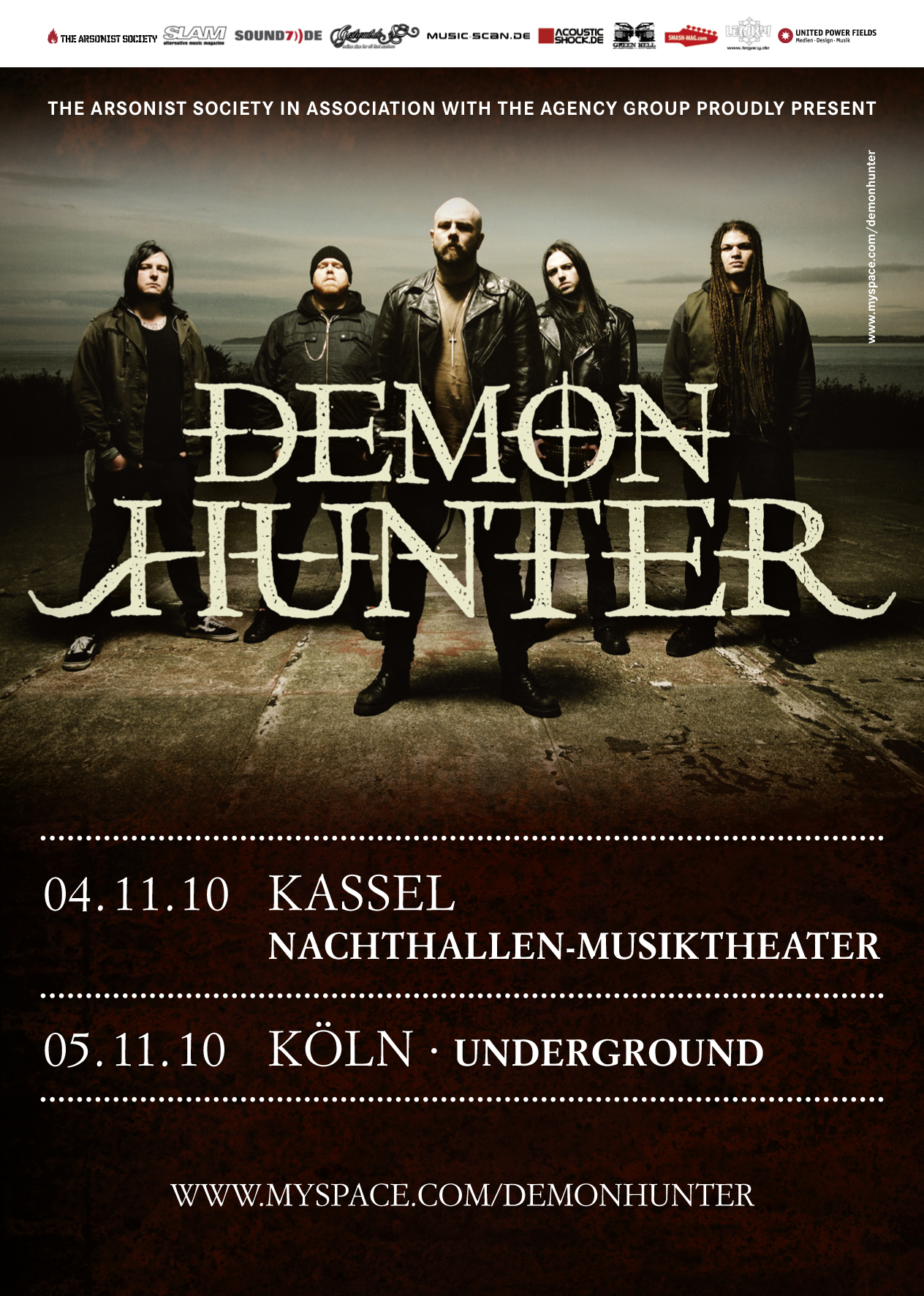 DEMON HUNTER: Tour-Update