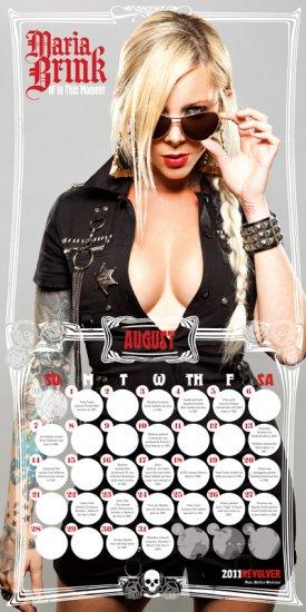 REVOLVER's Hottest Chicks In Hard Rock Calendar 2011: Scheiß auf den Reifen-Händler-Kalender!