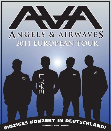ANGELS & AIRWAVES: Köln-Gig im Januar
