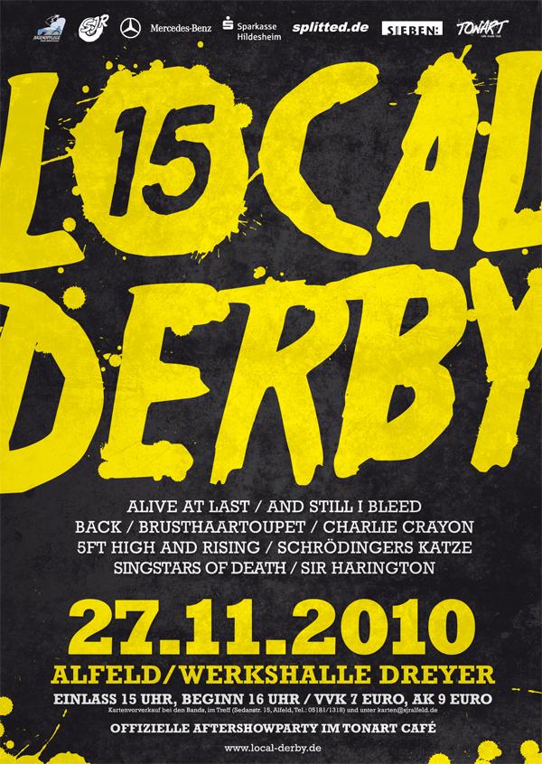 Alfelder LOCAL DERBY 15: Infos, Verlosung!