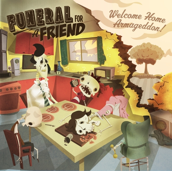 "FUNERAL FOR A FRIEND: Tourdaten für ""Welcome Home Armageddon"""