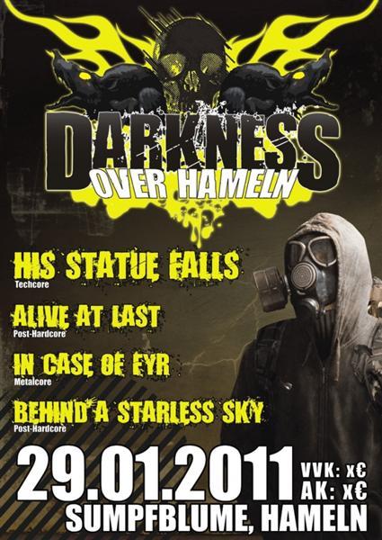 HIS STATUE FALLS und Co. bringen Dunkelheit über Hameln!