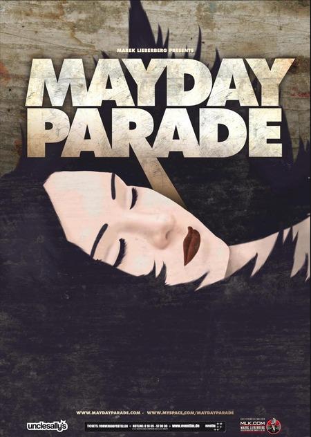 MAYDAY PARADE kommen im Mai auf Tour