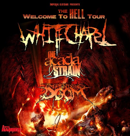 WHITECHAPEL: DeathCore auf Tour