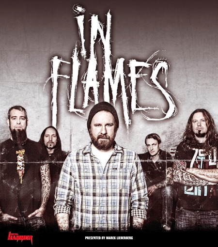 IN FLAMES: Im Juni auf Tour