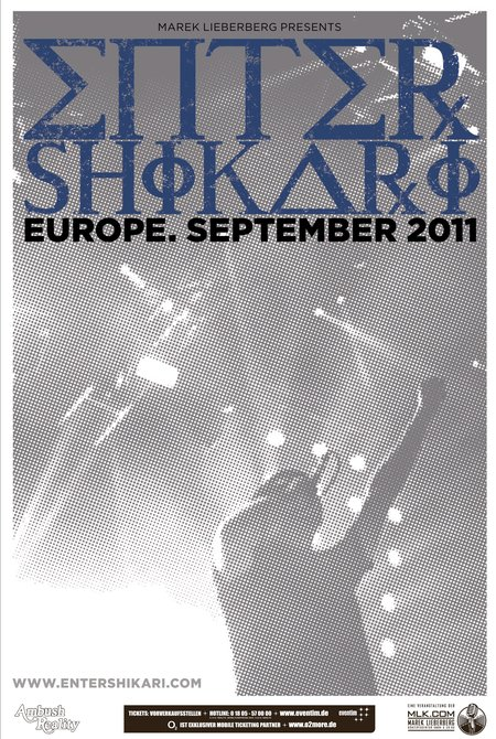 ENTER SHIKARI: Europa-Tour im September