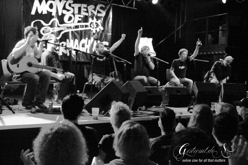 MONSTERS OF LIEDERMACHING, Hannover, Musikzentrum, 31.03.2011