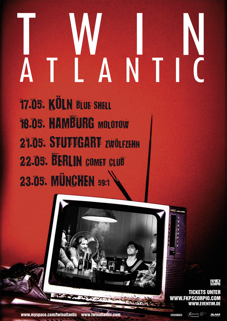 TWIN ATLANTIC, Hamburg, Molotow, 18.05.2011
