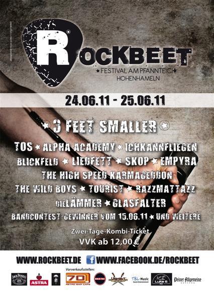 ROCKBEET 2011: Das Festival in Hohenhameln