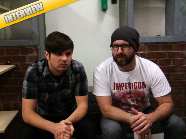 SILVERSTEIN-Video-Interview, Münster, Skaters Palace, 10.06.2011