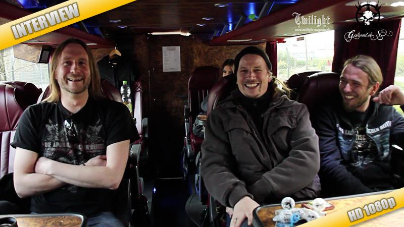 DIE APOKALYPTISCHEN REITER – Video-Interview, Hannover, April 2011