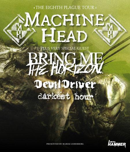 MACHINE HEAD: Tour im November mit amtlichen Supports, neues Album