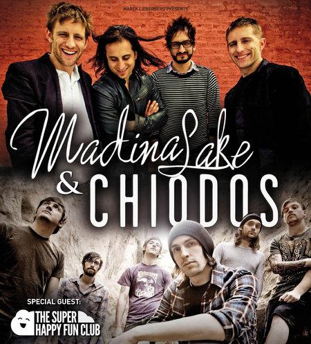 MADINA LAKE und CHIODOS kommen zusammen auf Tour