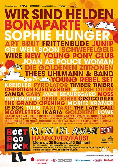 BOOTBOOHOOK-Festival-Vorbericht zum Wochenende
