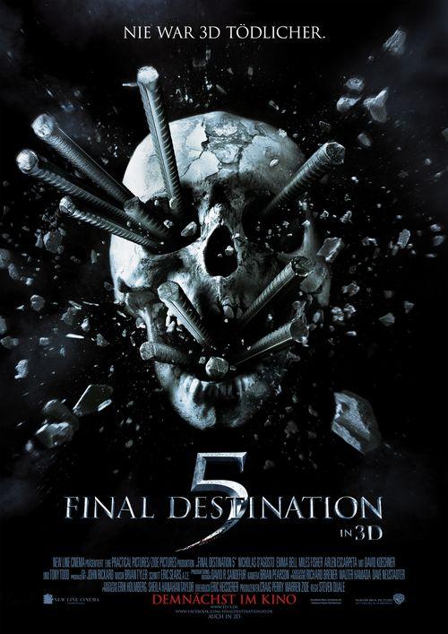 FINAL DESTINATION 5 (3D) ab dem 25.08.2011 im Kino