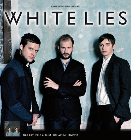 WHITE LIES im Winter auf Clubtour