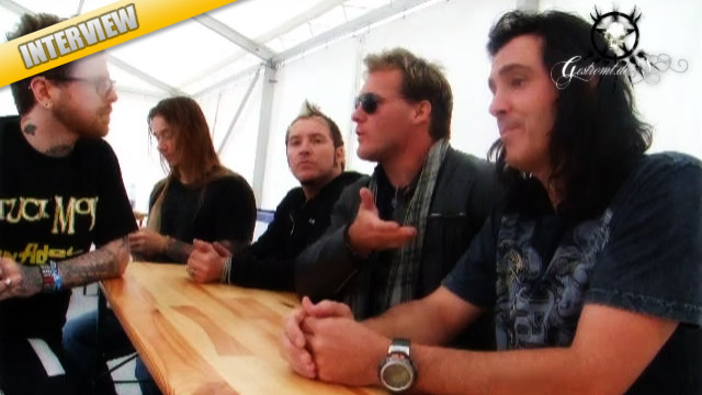 FOZZY – Interview mit CHRIS JERICHO, RICH WARD & Co, Sulingen