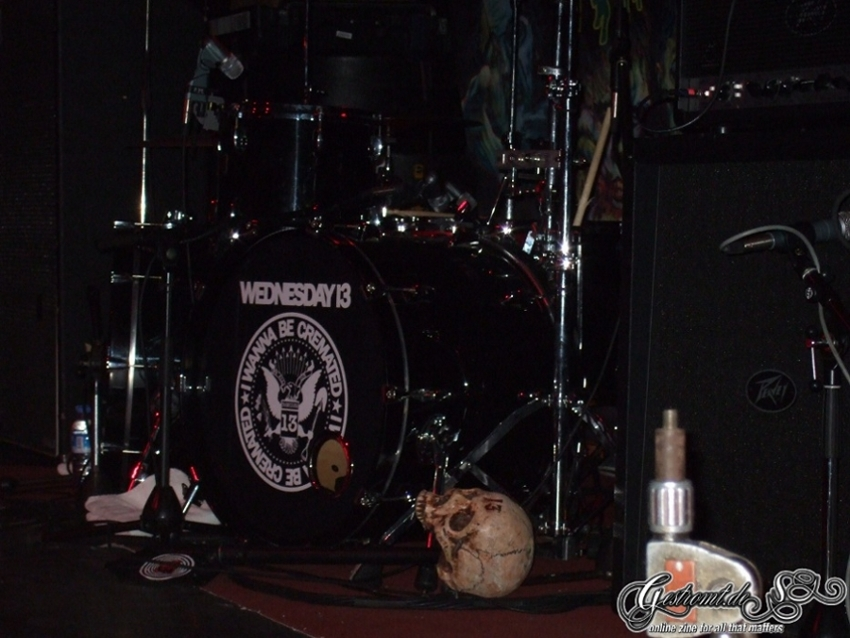 WEDNESDAY 13, Berlin, Magnet, 21.11.2011