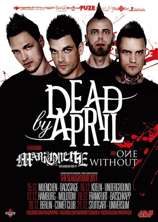 DEAD BY APRIL und MARIONETTE zusammen auf Tour!