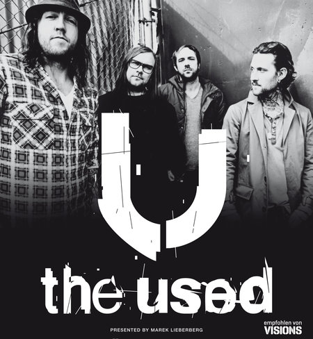 THE USED im April auf Tour