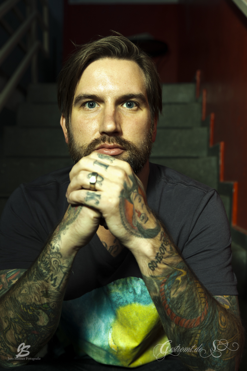 EVERY TIME I DIE-Interview, Hannover, 18.05.2012