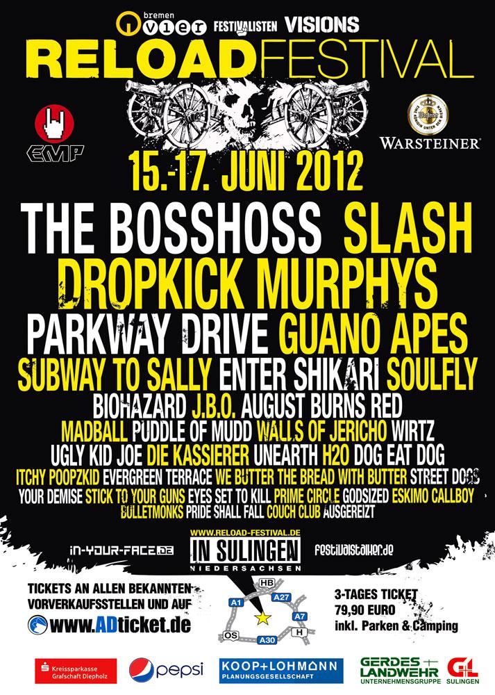 RELOAD-Festival: Running-Order überarbeitet