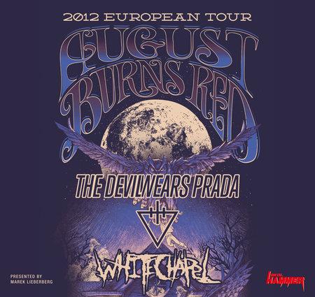 AUGUST BURNS RED: Im Herbst mit THE DEVIL WEARS PRADA und WHITECHAPEL auf Tour
