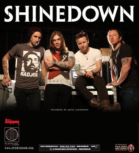 SHINEDOWN im Oktober auf Tour