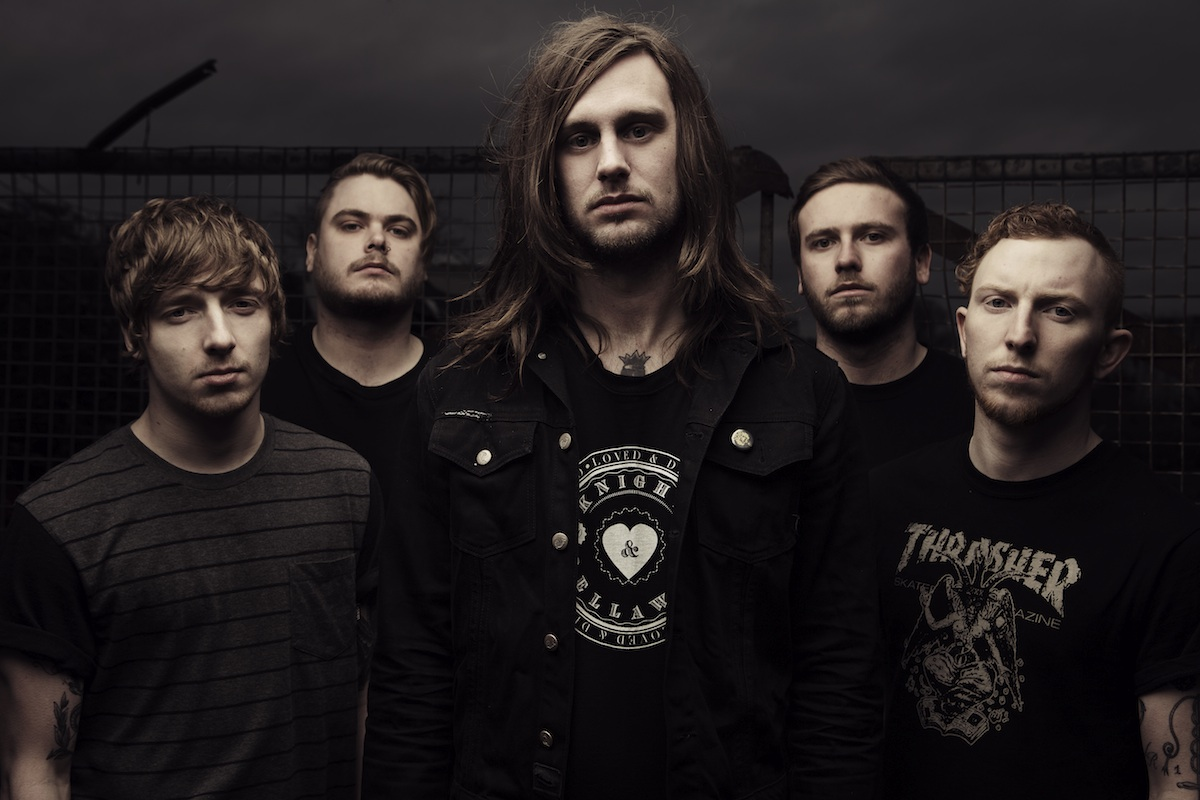 WHILE SHE SLEEPS-Interview, Berlin, Magnet-Club, 21.10.2012