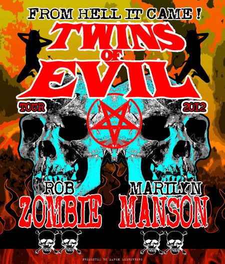 ROB ZOMBIE & MARILYN MANSON zusammen auf Tour