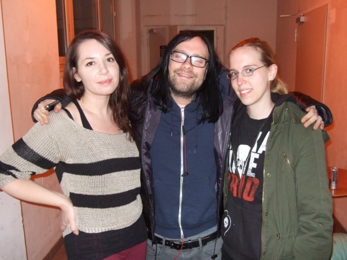 THE USED-Interview, Berlin, Magnet, 14.11.12