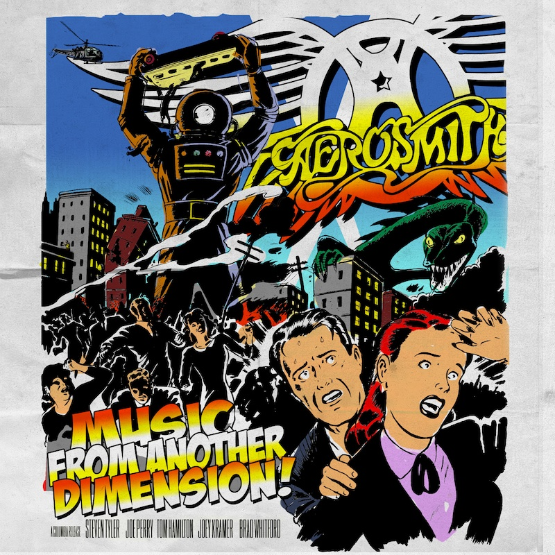 AEROSMITH – Music From Another Dimension