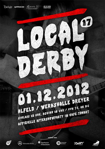 LOCAL DERBY 17 am Samstag! Gewinnt Tickets!