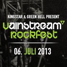 Erste Bandbestätigungen für VAINSTREAM ROCKFEST 2013
