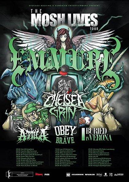 THE MOSH LIVES TOUR 2013