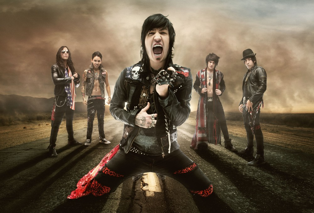 ESCAPE THE FATE-Interview Mai 2013