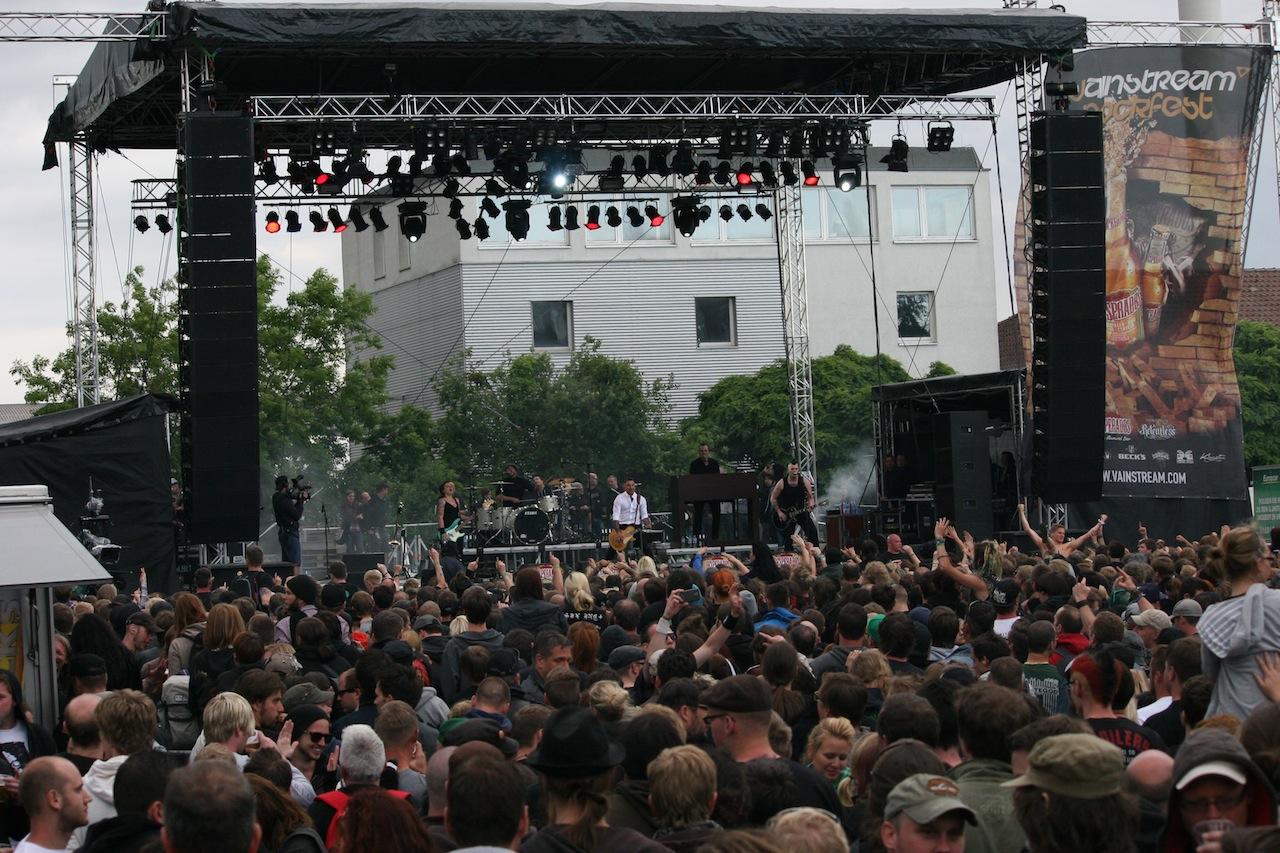 Ticket-Verlosung für das VAINSTREAM ROCKFEST 2013
