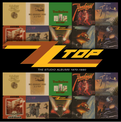 ZZ TOP – The Studio Albums 1970 – 1990