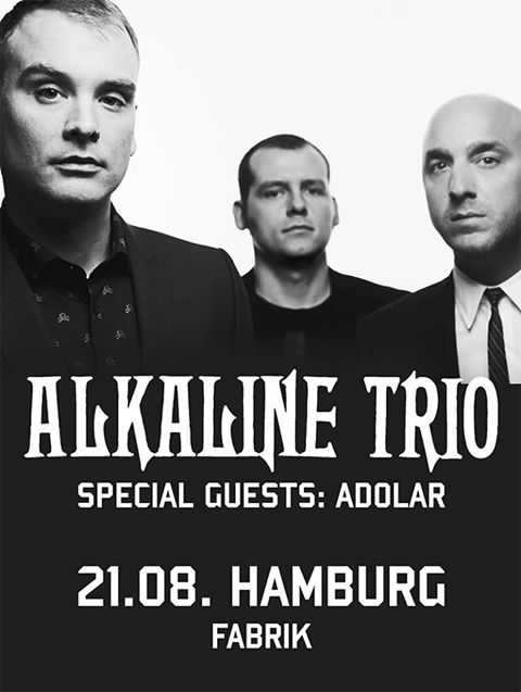 ALKALINE TRIO, THE BRONX, Fabrik, Hamburg, 21.08.2013