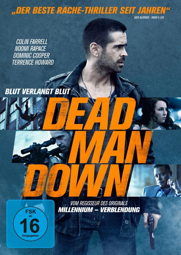 DEAD MAN DOWN – Bluray