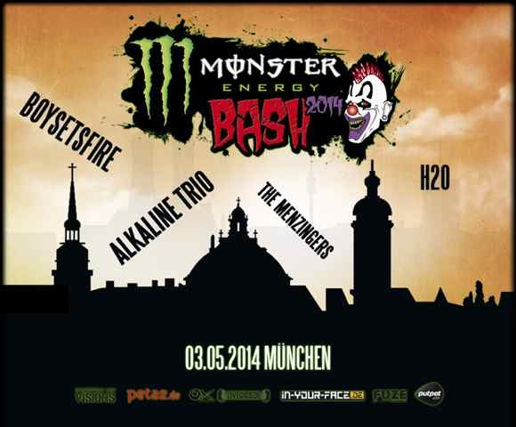 MONSTER BASH 2014 am 03.Mai in München