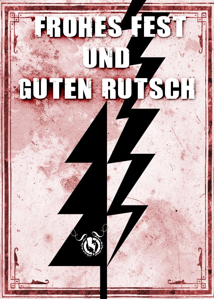 """GESTROMT.de sagt """"MERRY X-MAS und guten Rutsch""""!"""